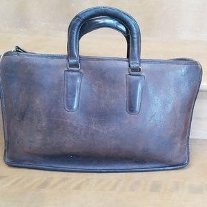 Vintage coach briefcase 7563